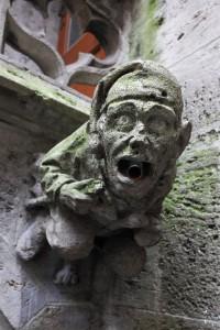 Gothic gargoyle on town hall in Munich by Roman Sigaev. www.shutterstock.com
