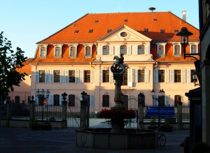 Bönnigheim's palace housed the Forestry Department in the 19th century.