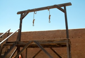 Gallows by shutterstock.com