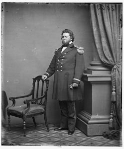 "General William ""Bull"" Nelson. Library of Congress Prints & Photographs Division."