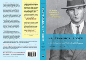 Hauptmann's Ladder, a new book about the Lindbergh kidnapping.