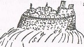 Twain's sketch of Dilsberg
