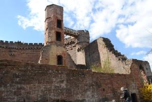 Dilsberg castle.
