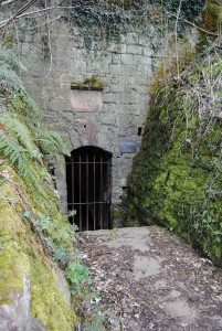 Entrance to the Dilsberg tunnel