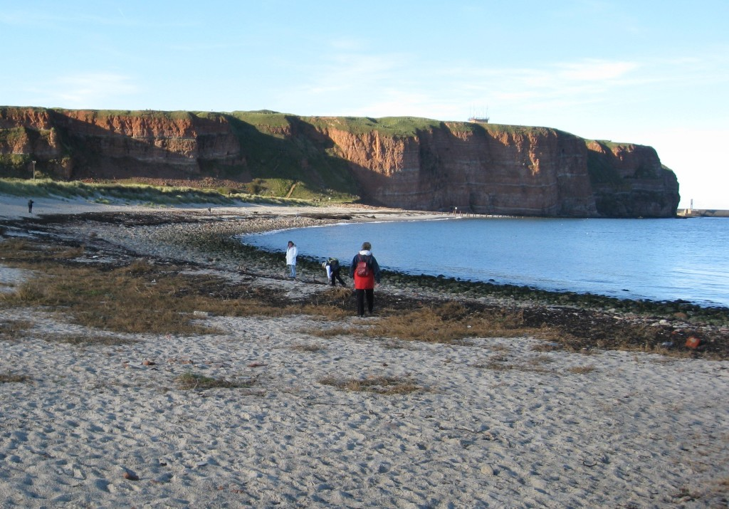 These are the rocks of Heligoland.
