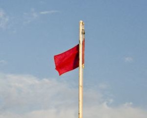 Red flags are also traditional pirate flags