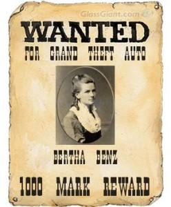Wanted: Bertha Benz for Grand Theft Auto