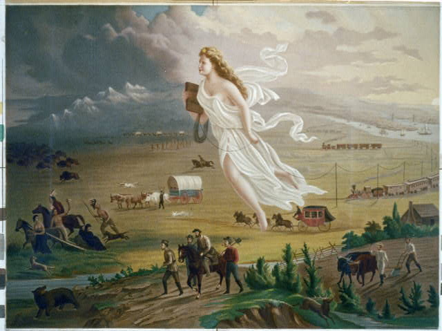 Jane McManus Storms might have coined the phrase Manifest Destiny