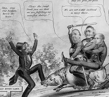 manifest destiny cartoon