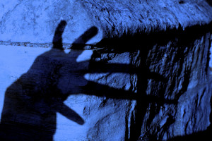 The hand of a vampire is a hairy hand.