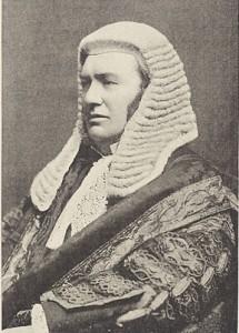 British high court judges wear full bottom judicial wigs.