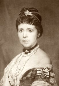 An older Empress Augusta of Germany