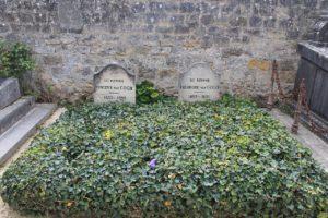 Vincent van Gogh's grave.