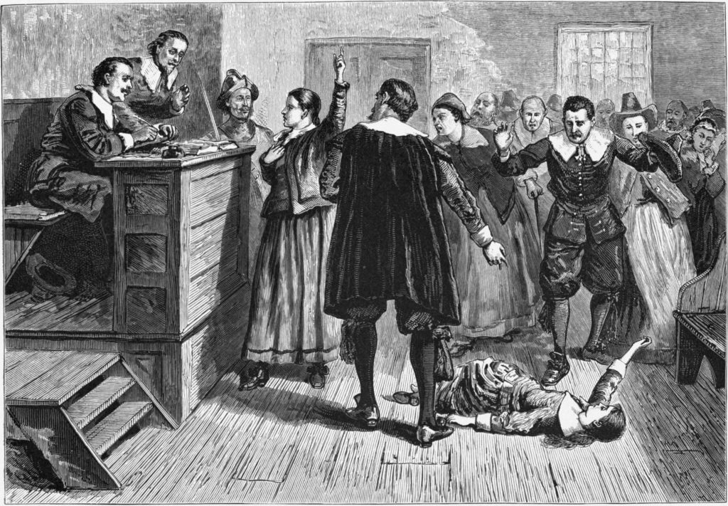 A witch trial.