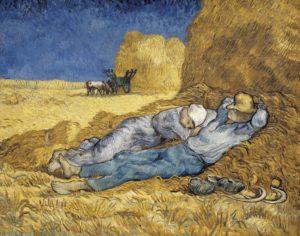 Vincent van Gogh, Noon, or The Siesta.