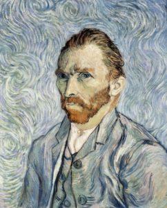 Vincent van Gogh, Self Portait.