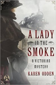 A Lady in the Smoke, book cover.