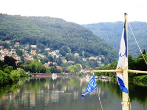 The Neckar Valley between Heilbronn and Heidelberg. Here's where Twain's raft trip took place.