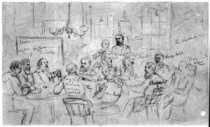 A Civil War court martial.