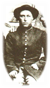 Civil War tintype.