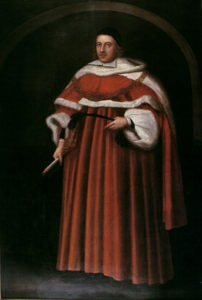 Painting of Sir Matthew Hale.