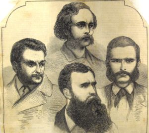 The four main conspirators in the greatest 19th-century forgery.