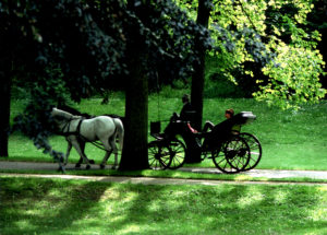 Baden-Baden was a popular tourist destination for Americans in the 19th century.