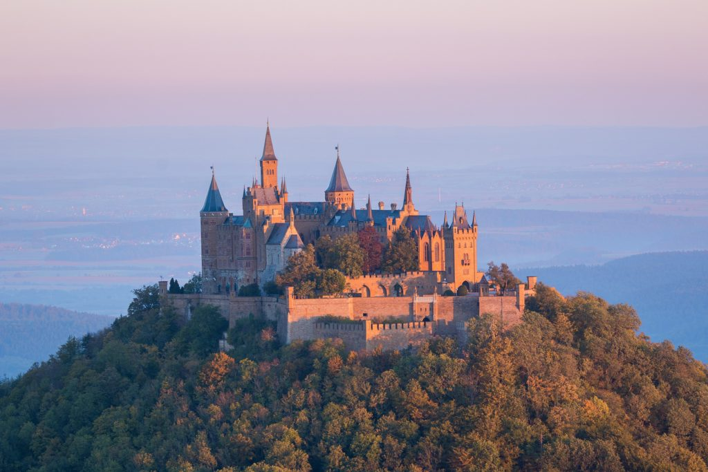 Hohenzollern castle.