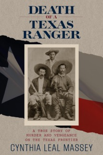 Death of a Texas Ranger book cover.