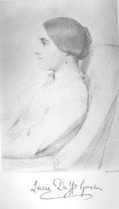 Lucie Duff Gordon, c. 1851.