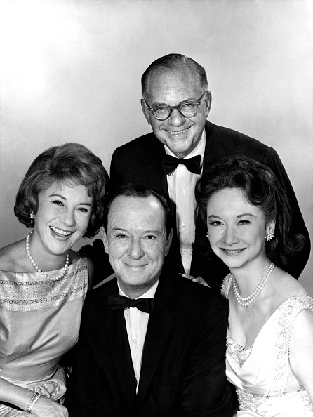 Dorothy Kilgallen with other What's My Line panelists.