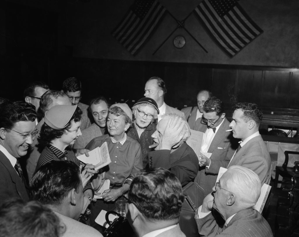 Dorothy Kilgallen at the Sheppard trial.