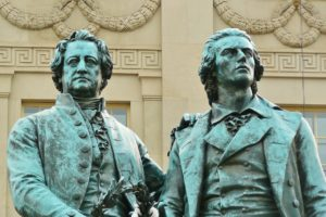 Goethe and Schiller.