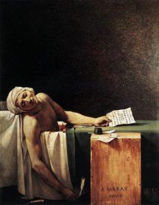 Death of Marat.