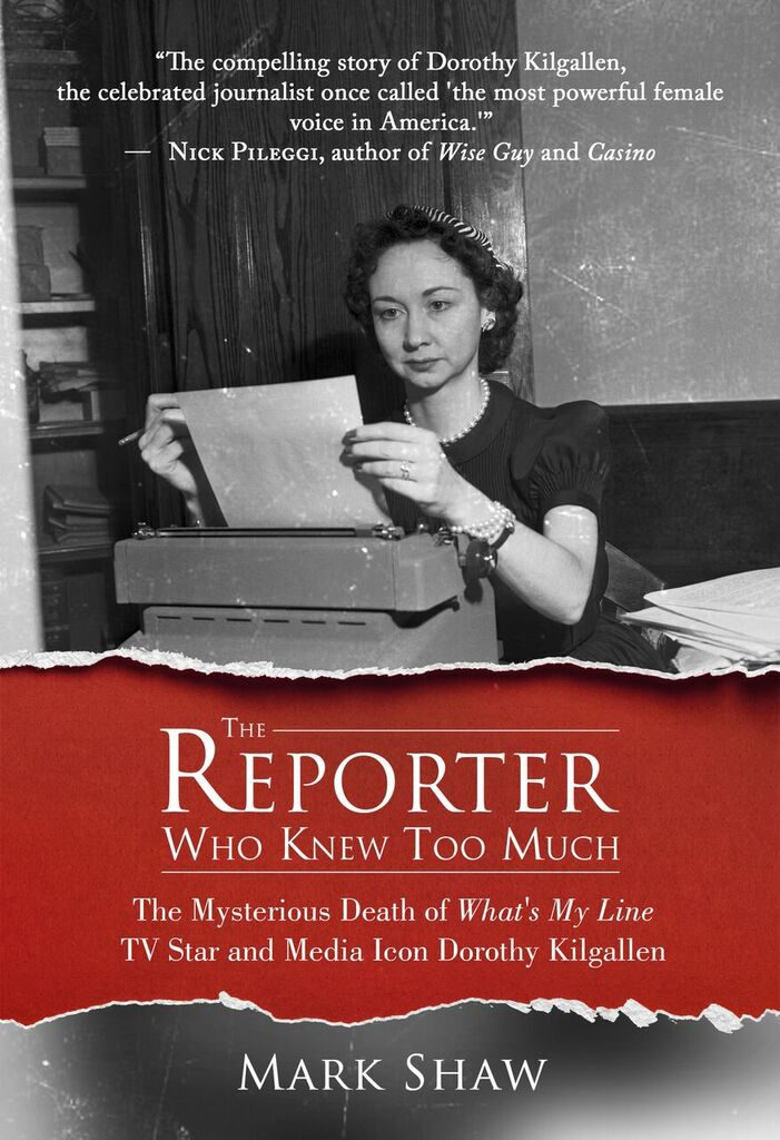 Mark Shaw's book on the mysterious death of Dorothy Kilgallen.