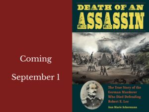 book cover for Death of an Assassin