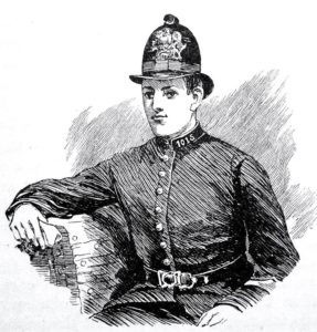 Constable Cock, murder victim.