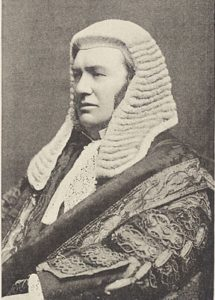 Lord Justice Lindley presided over the trial for Constable Cock's murder.