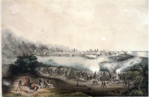 Naval battery at the Siege of Veracruz