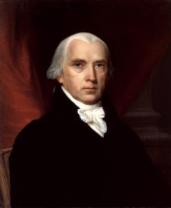 President James Madison was the grandson of Ambrose Madison