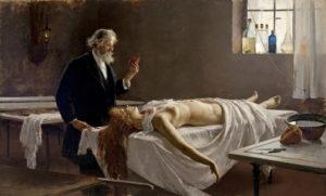 A 19th-century autopsy