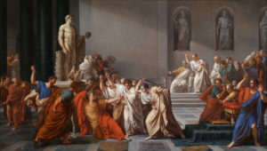 The death of Julius Caesar occasioned the first recorded autopsy.