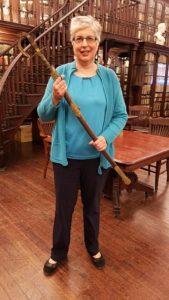 Ann Marie Ackermann presenting Death of an Assassin at the German Society of Pennsylvania.