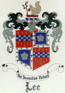 Coat of arms of the Lees of Virginia