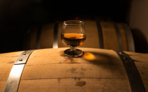 Whiskey and barrel by (c) Jake Hukee