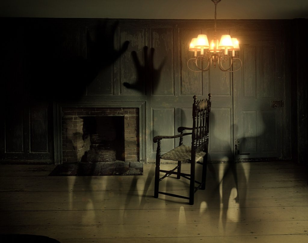 A haunted room.