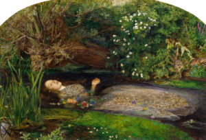 Ophelia, by John Everett Millais