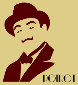 Hercule Poirot was Christie's first detective.