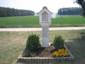Hinterkeifeck memorial.