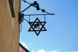 An example of a Zoiglstern or Zoigl star. Brewers use them as a pub sign.